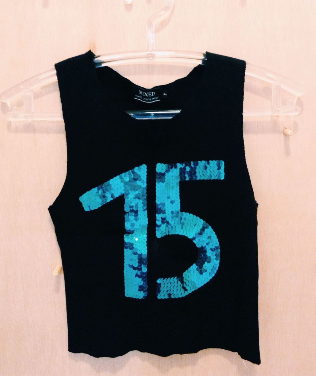 e41df82365 blusa número 15 paetê - blusas mixed.  Czm6ly9wag90b3muzw5qb2vplmnvbs5ici9wcm9kdwn0cy81os82zme0mwm2mgyxzmi5mtmzowy5oty2n2q2ytexnwy2ms5qcgc