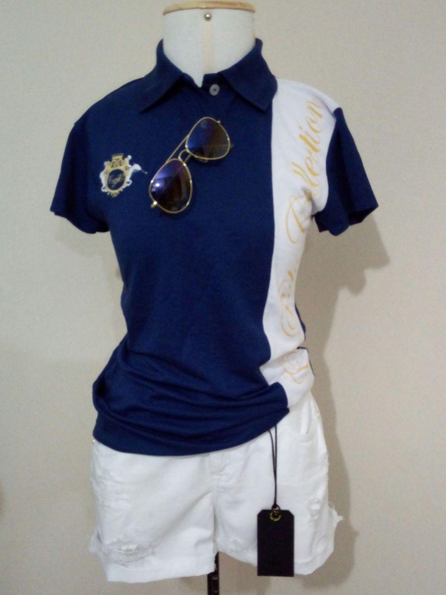 64e7350b108dd blusa polo feminina luxo fashion - blusas polo collection