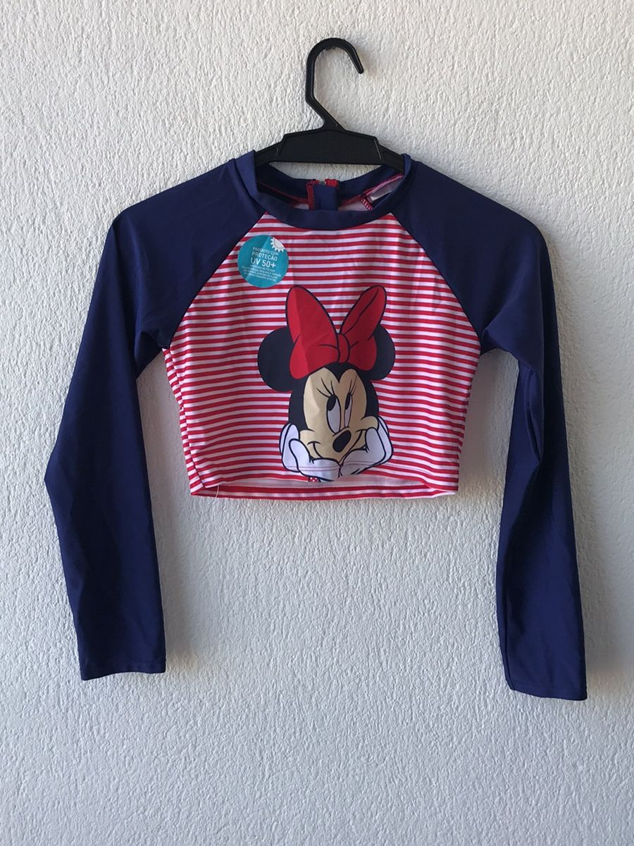 blusa proteção solar - menina riachuelo