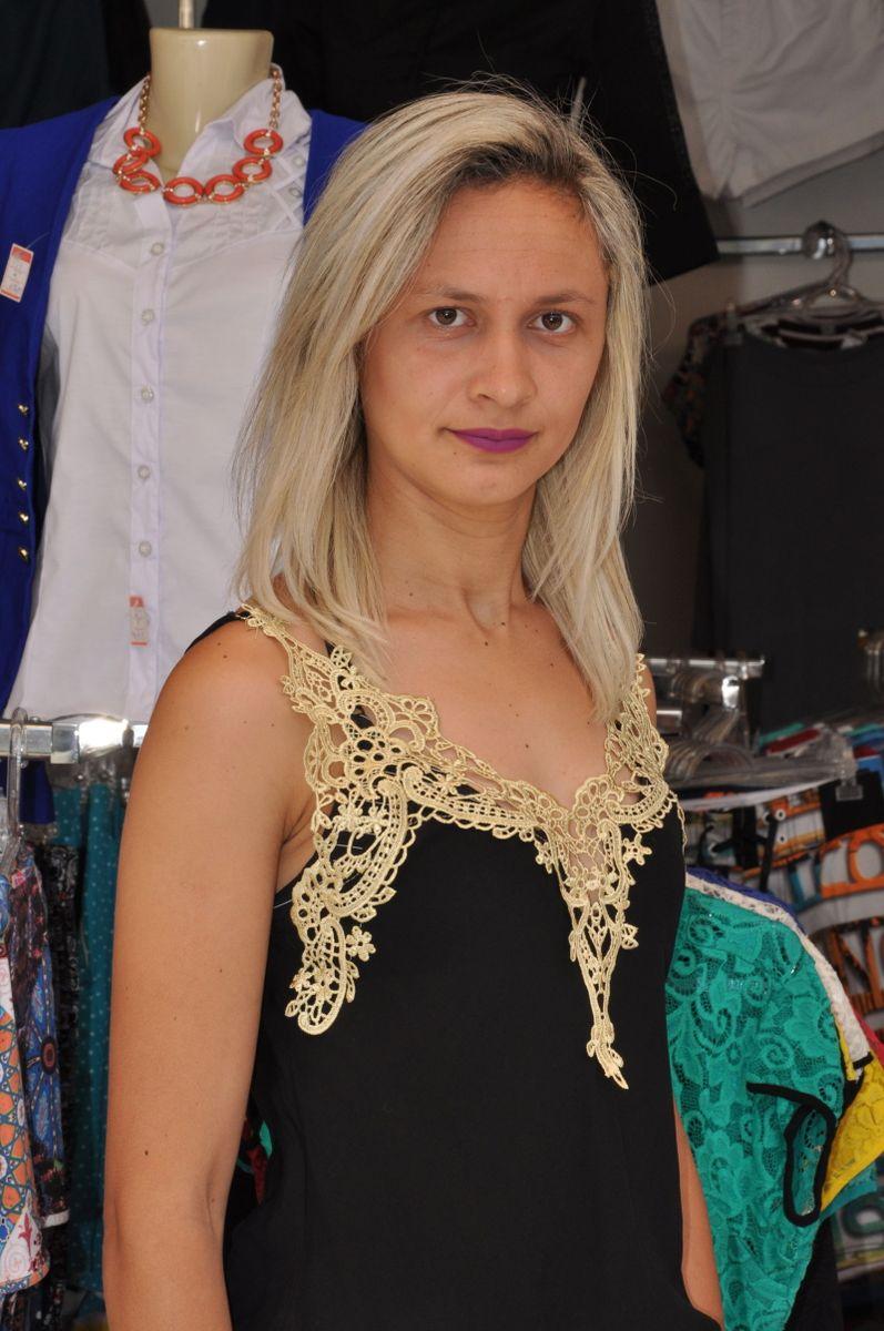 243df230ad blusa regata feminina renda guipir blusinha alça dourado cores variadas  moda verao tendencia escolha - blusas