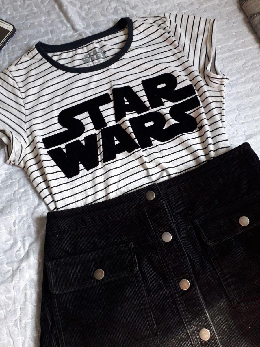 blusa star wars - blusas sem marca