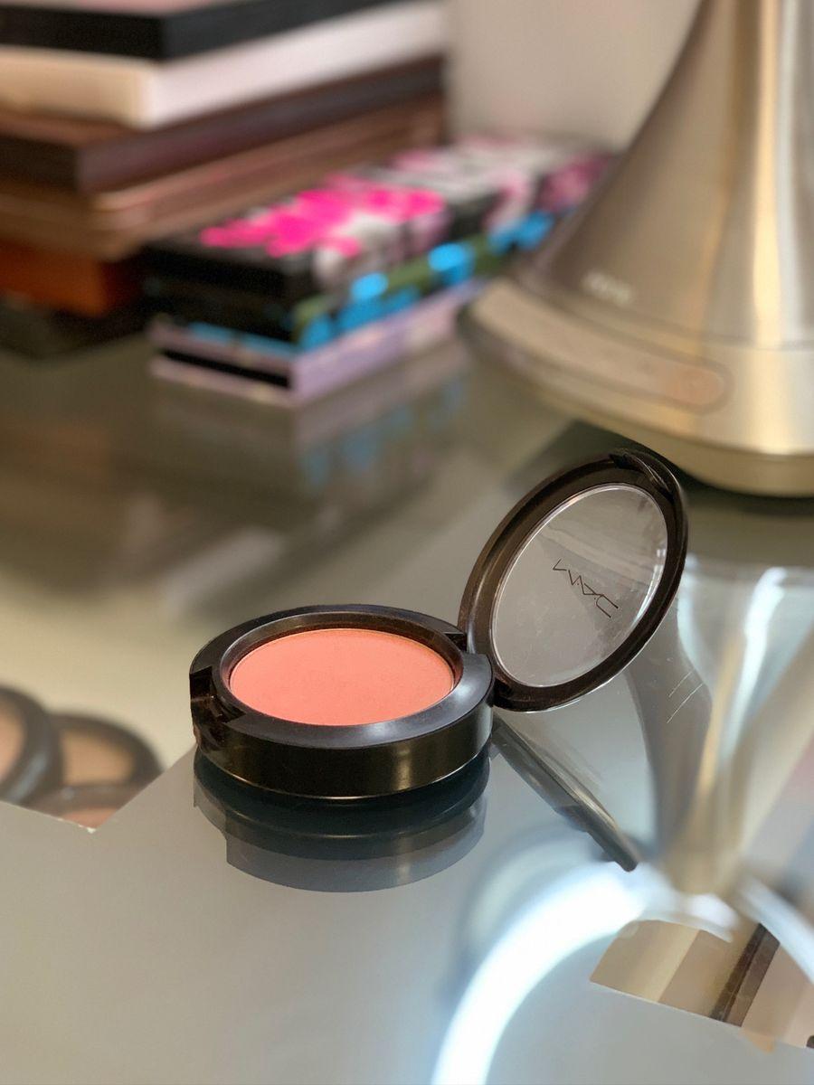 blush mac cor springsheen - maquiagem mac