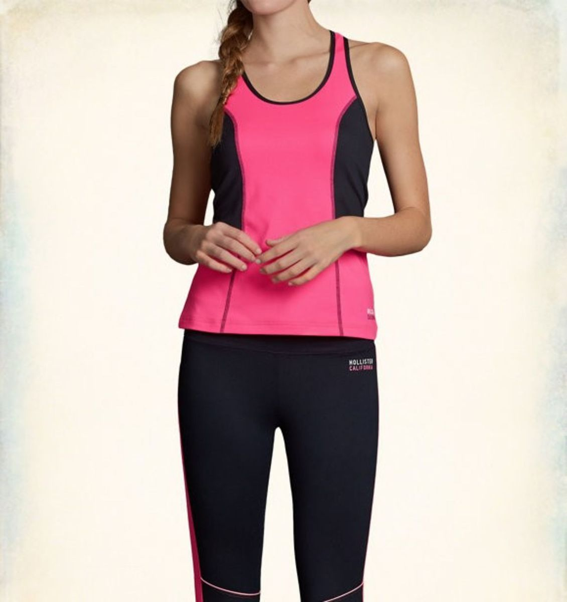 blusinha fitness hollister regata academia malhação sport - camisetas  hollister 50d402ea1c5