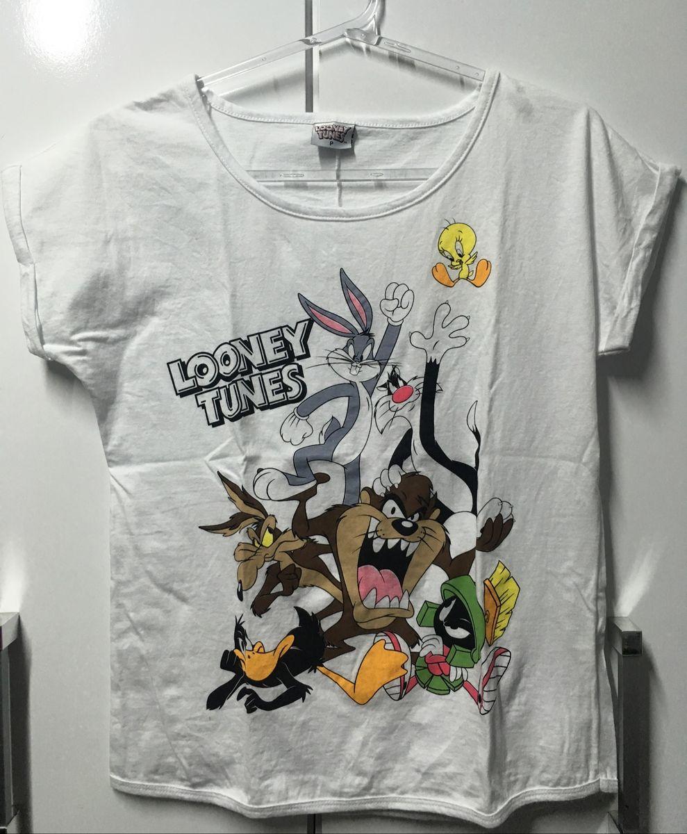 blusinha looney tunes - blusas marisa