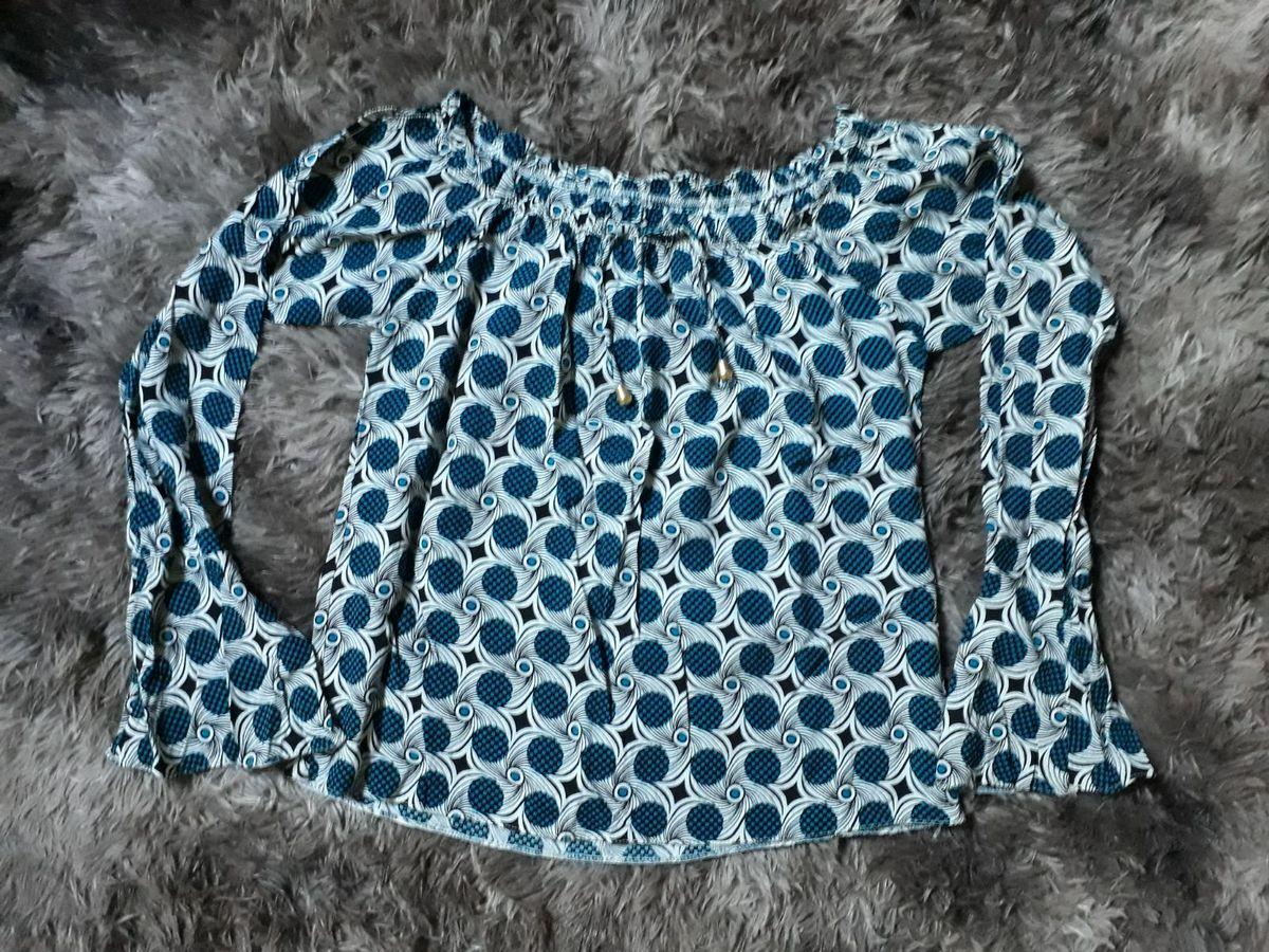 blusinha manga longa - blusas sem marca