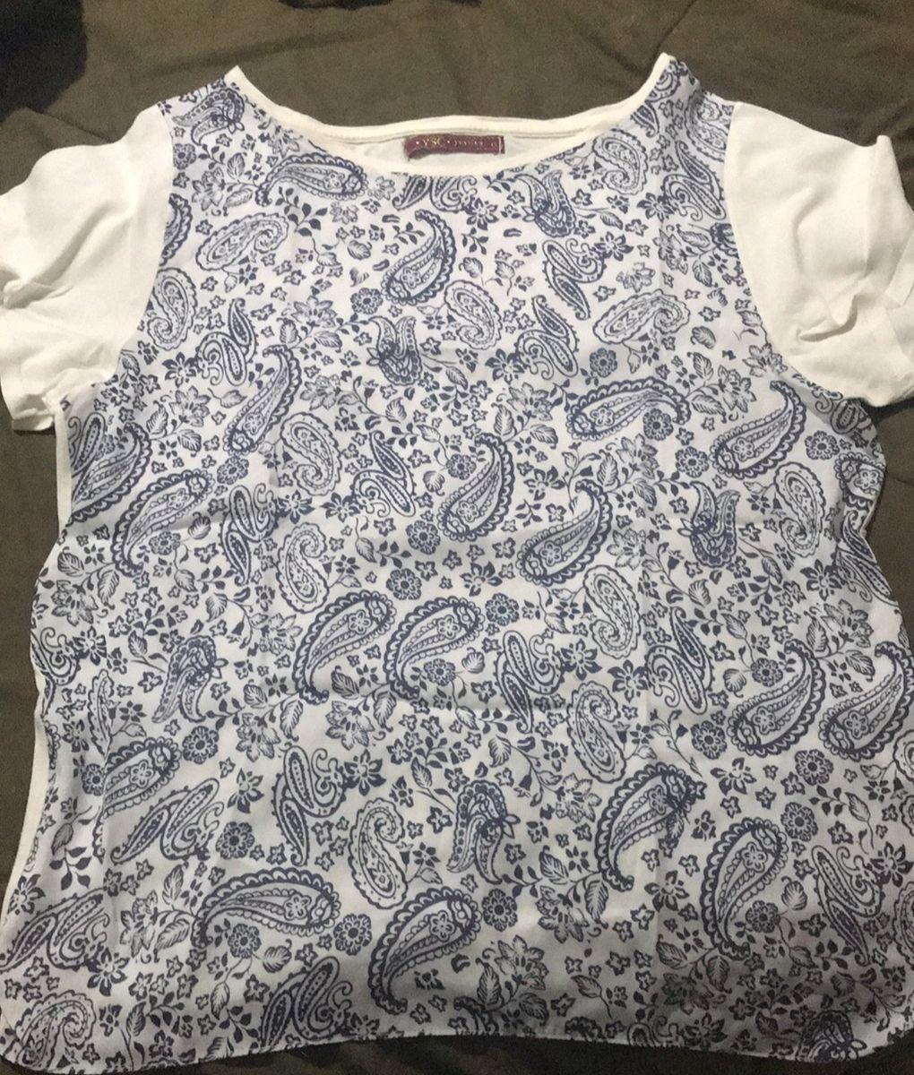 blusinha plaisley - blusas yessica