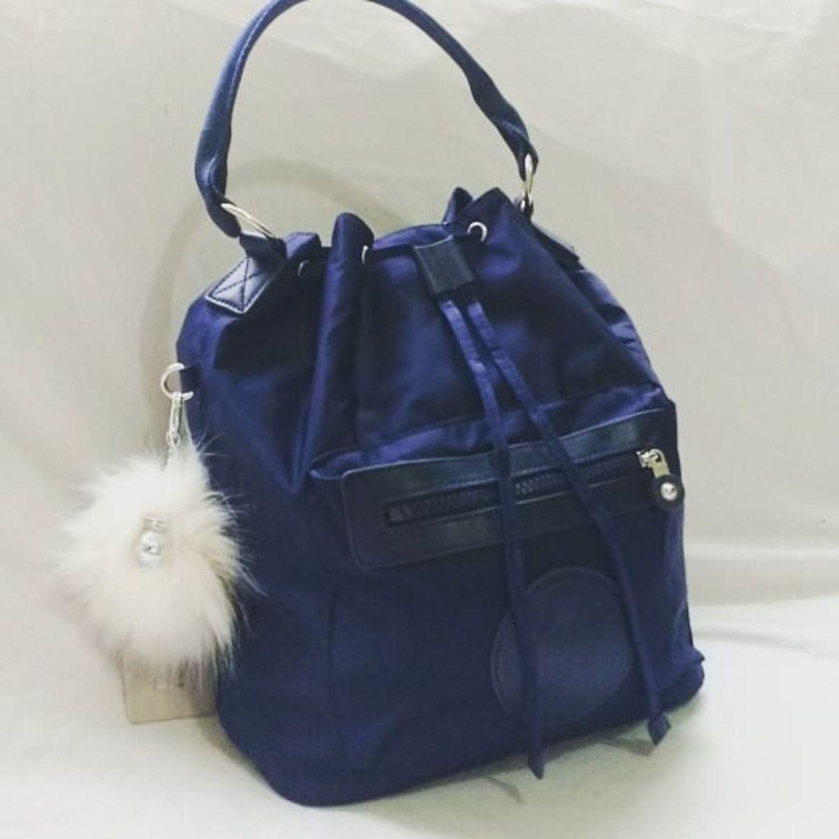 ed2cde590 Bolsa 3 em 1 Kipling Violet Azul Marinho | Bolsa de mão Feminina ...