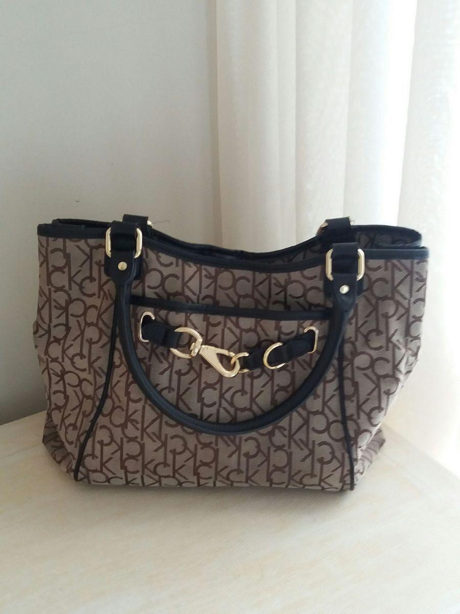 d06b74f991466 Bolsa Calvin Klein (nova York)   Bolsa de Ombro Feminina Calvin ...