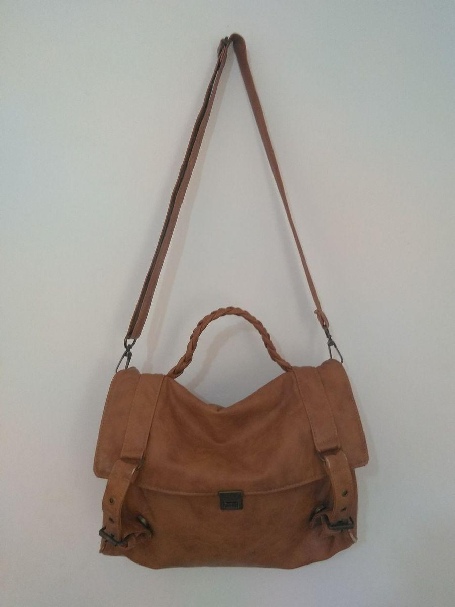 ed48d76760 bolsa carteiro feminina couro ecológico - ombro elo7