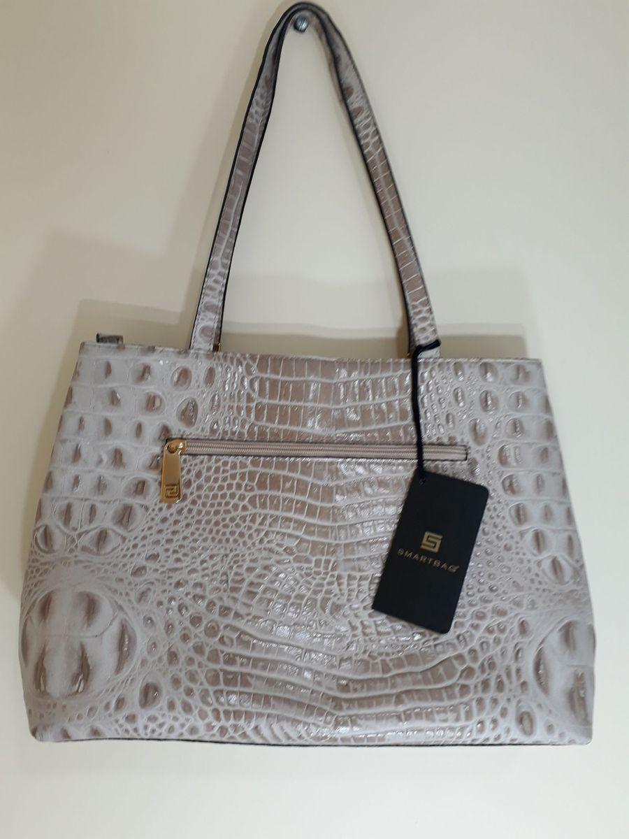 bb5b8a4e0 bolsa croco pele - ombro smartbag.  Czm6ly9wag90b3muzw5qb2vplmnvbs5ici9wcm9kdwn0cy8xmde0nze1ni8ynty2mdlkzmjimzvjnza4yju2mdrim2u4mtdhmwrkmc5qcgc  ...