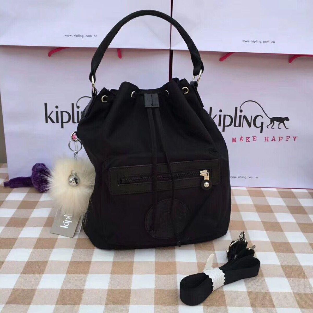 c9e8507d9 Bolsa de Mao 3 em 1 Kipling Violet Preta | Bolsa de mão Feminina Kipling  Nunca Usado 28648855 | enjoei