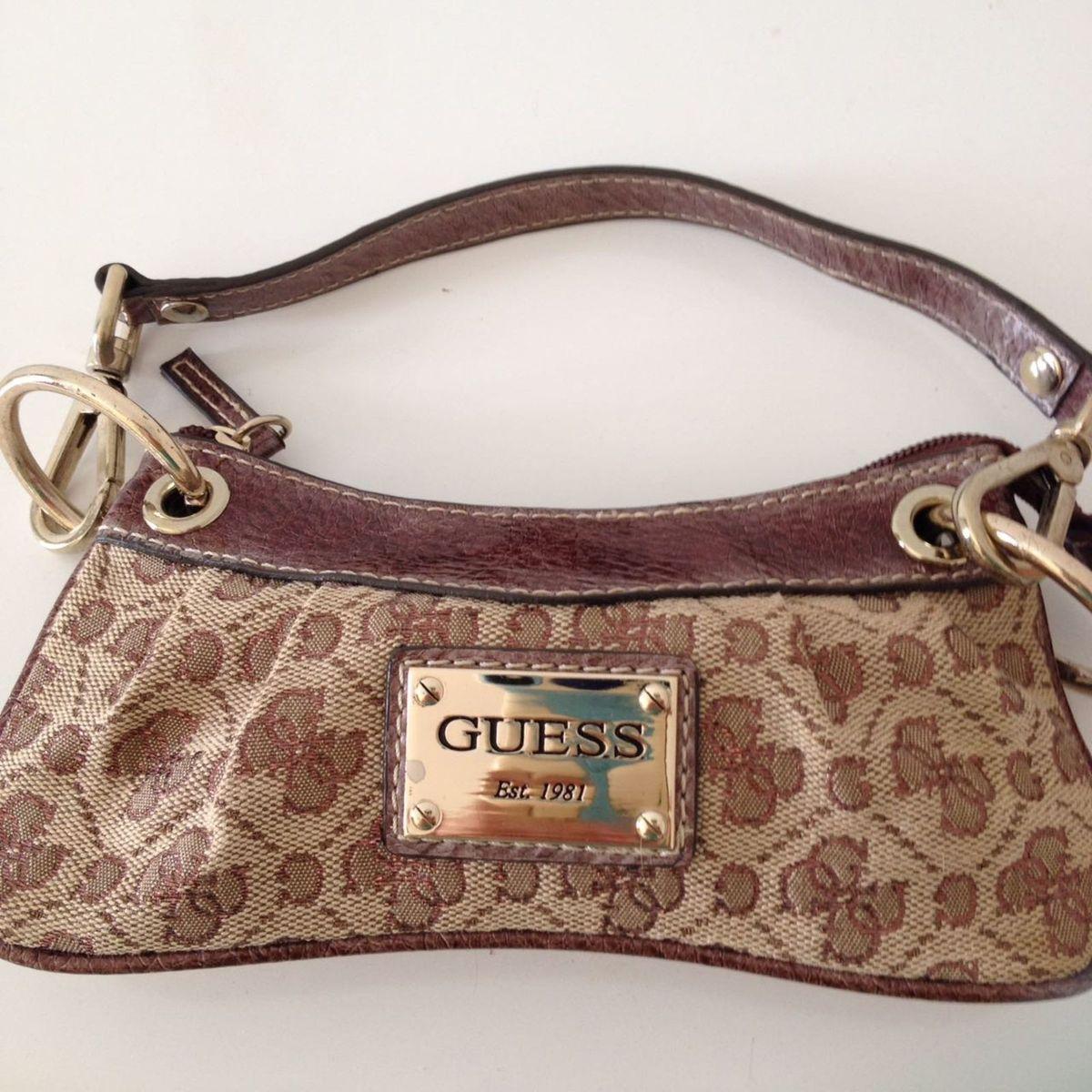 2240ae664 Bolsa de Mao da Guess Original Marrom | Bolsa de mão Feminina Guess ...