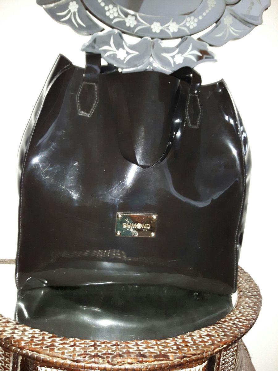 b249b72b6 Bolsa de Material Sintético (vinil) Dumond   Bolsa de Ombro Feminina ...
