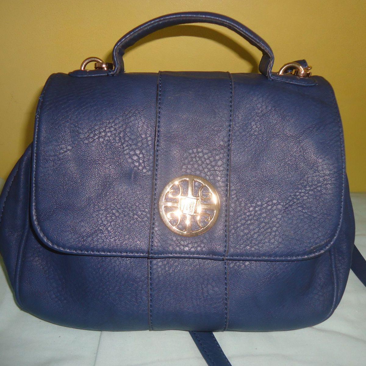 b5faa5107 Bolsa de Ombro e Mão Azul Ana Luxory | Bolsa de Ombro Feminina Ana Luxory  Nunca Usado 1064717 | enjoei