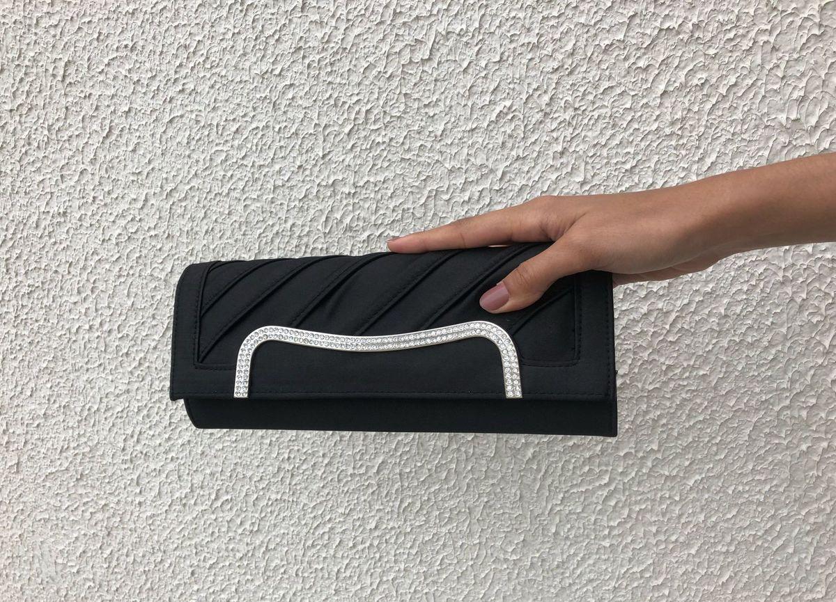 bolsa festa preta - de mão sem marca