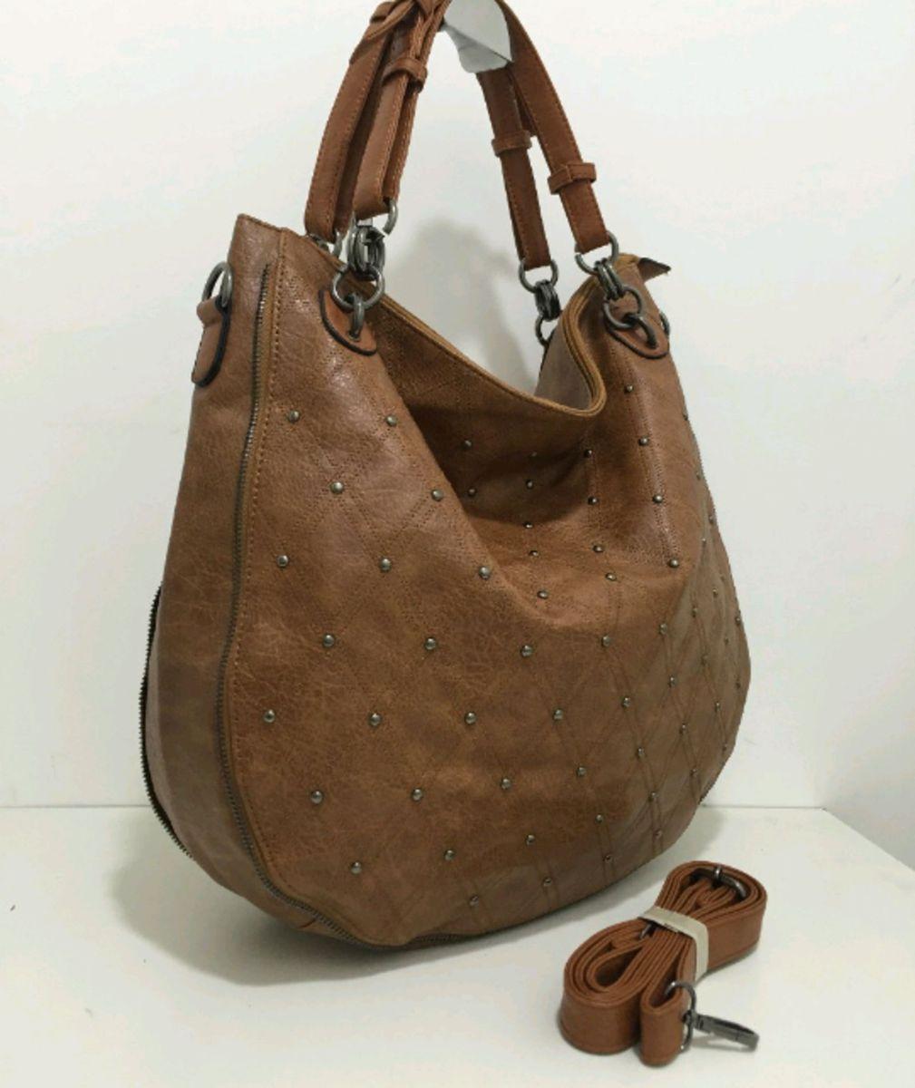 79d82fa9c bolsa grande feminina tipo saco com taxinha lançamento novidade - ombro  importado