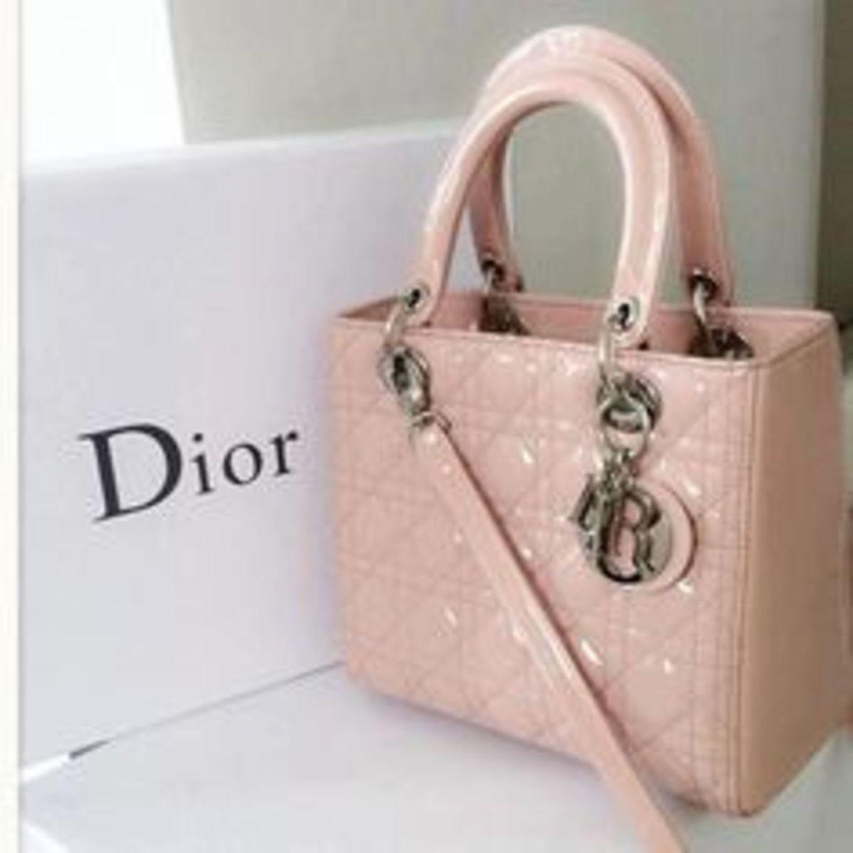 6934df793 Bolsa Lady Dior Mini Nude | Bolsa de mão Feminina Dior Nunca Usado 13076422  | enjoei