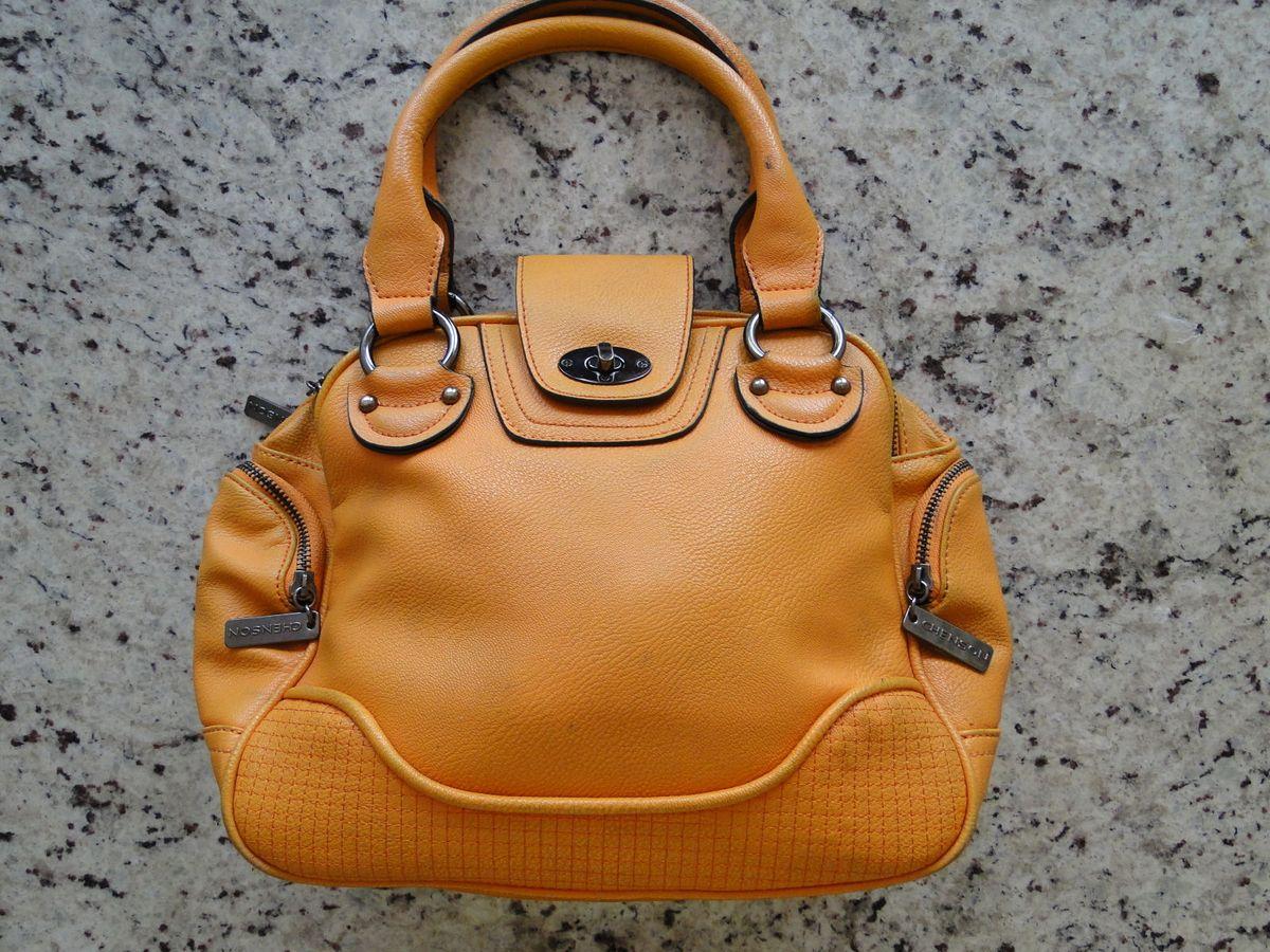 24988de29 bolsa laranja chenson - ombro chenson.  Czm6ly9wag90b3muzw5qb2vplmnvbs5ici9wcm9kdwn0cy81mjyymjqyl2ewmge4yzu2ogqwotnlngfkn2fiyjjjyjm0mwfizdq3lmpwzw