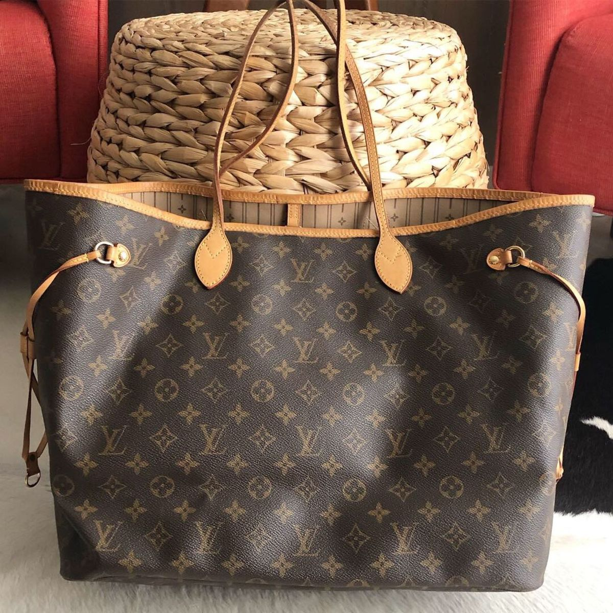 df4a5b902 Bolsa Louis Vuitton Neverfull Gm Original | Bolsa Masculina Louis Vuitton  Usado 31212781 | enjoei