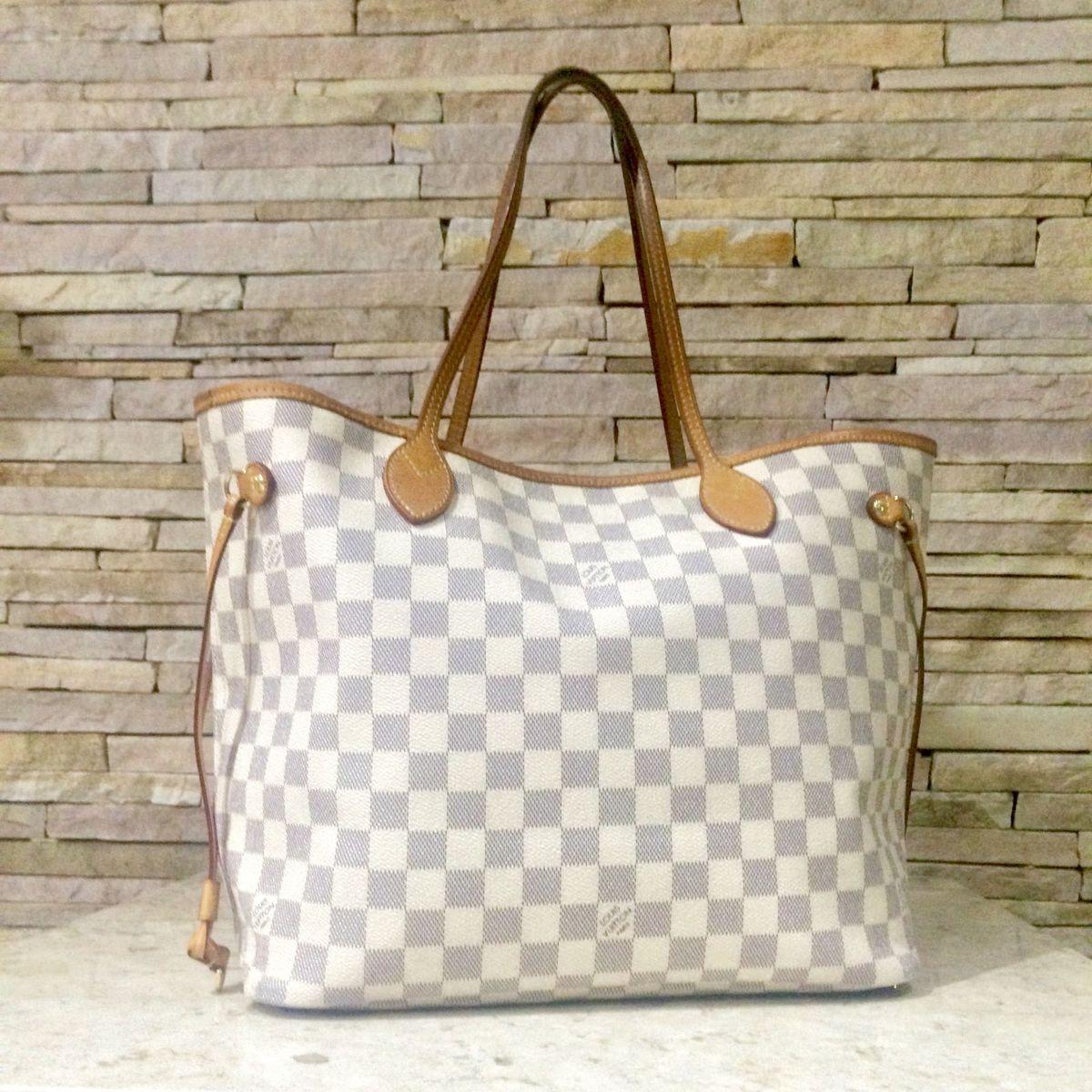 25ff680053 Bolsa Louis Vuitton Neverfull Mm Original | Bolsa de Ombro Feminina Louis  Vuitton Usado 2771759 | enjoei