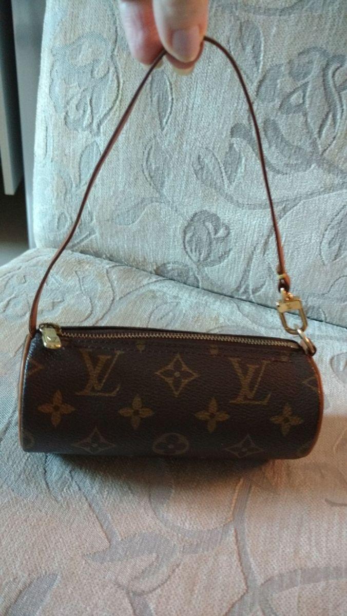 ab6f2583a Bolsa Louis Vuitton Papillon Mini Pochette   Clutch Feminina Louis ...