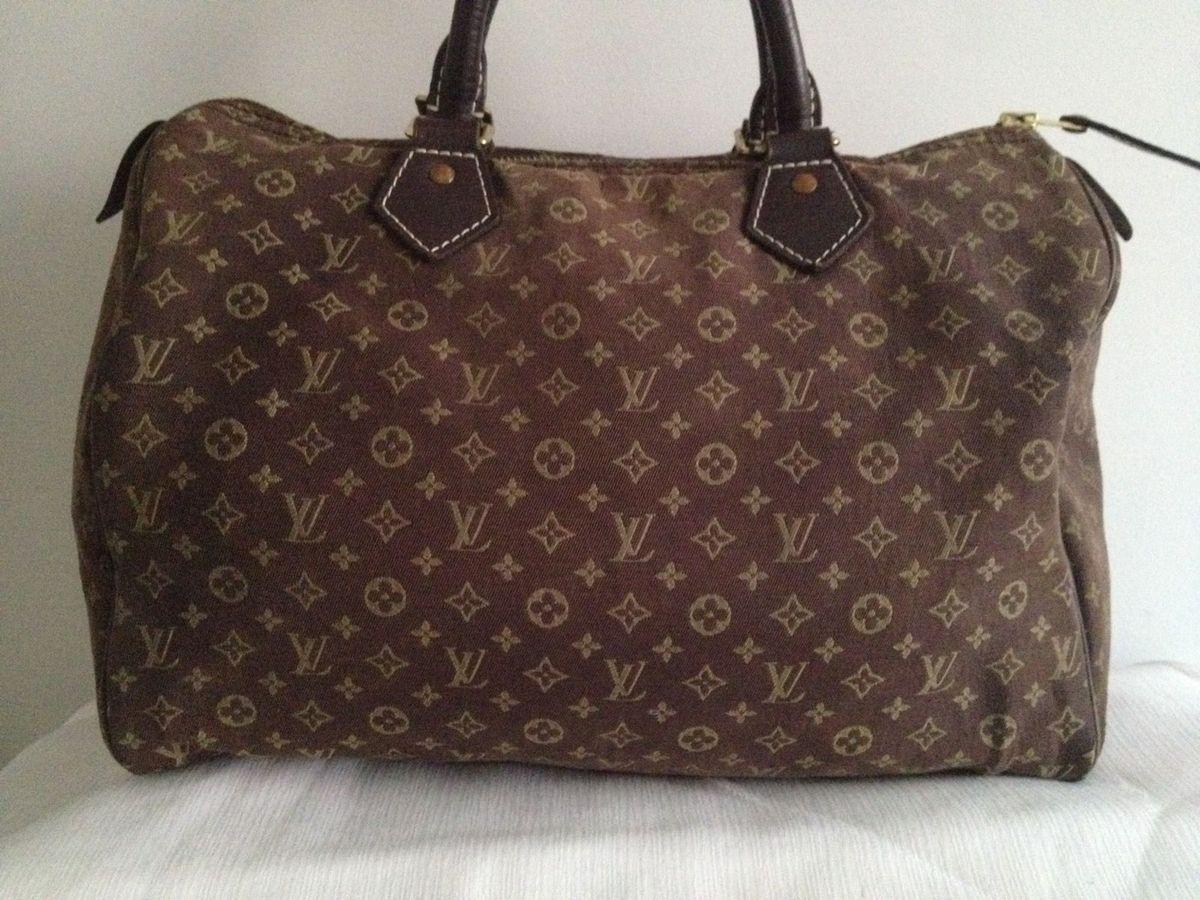 02fb60b17 Bolsa Louis Vuitton Speedy 30 Idylle Fusain   Bolsa de mão Feminina ...