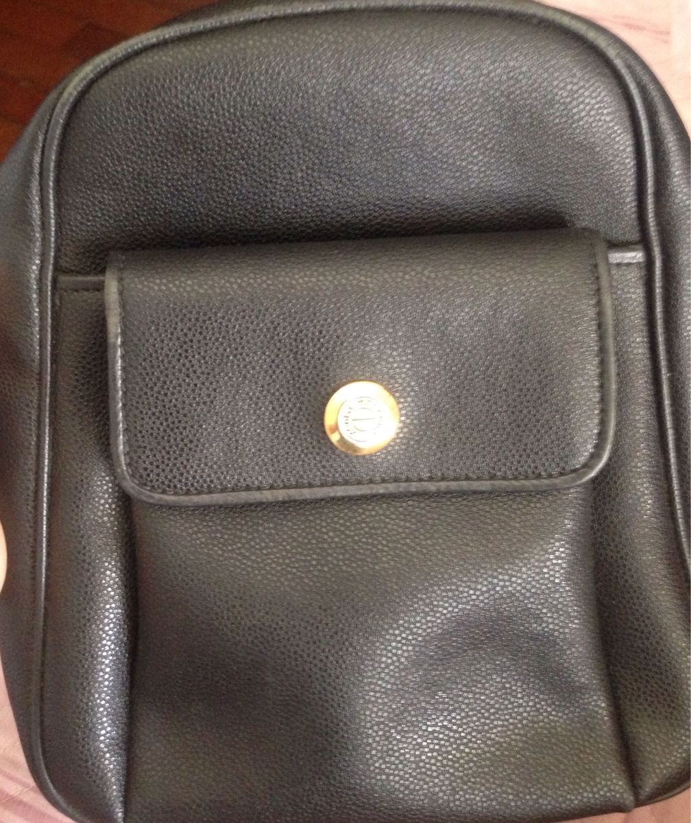 bolsa mochilinha santa marinella - mochila santa marinella cea12c734bb