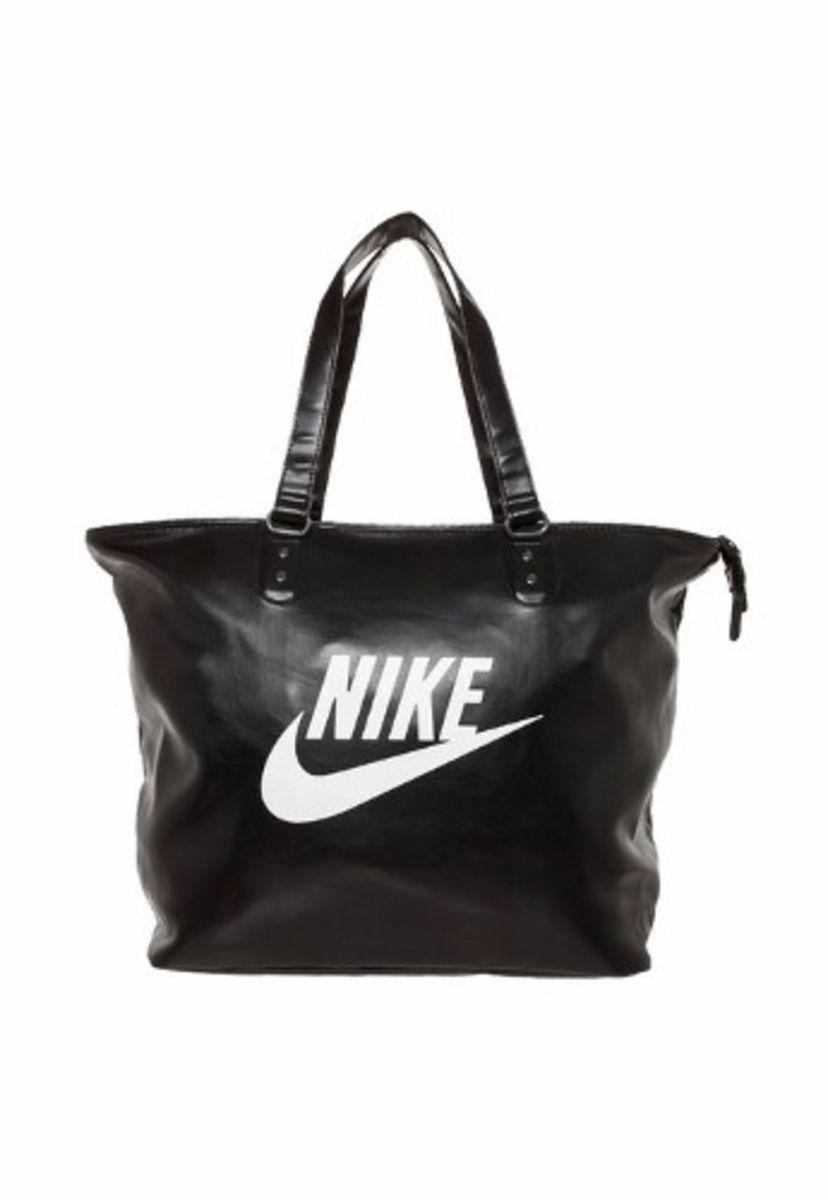 538d95bad Bolsa Nike Heritage Si Tote Preta Original | Bolsa de Ombro Feminina ...