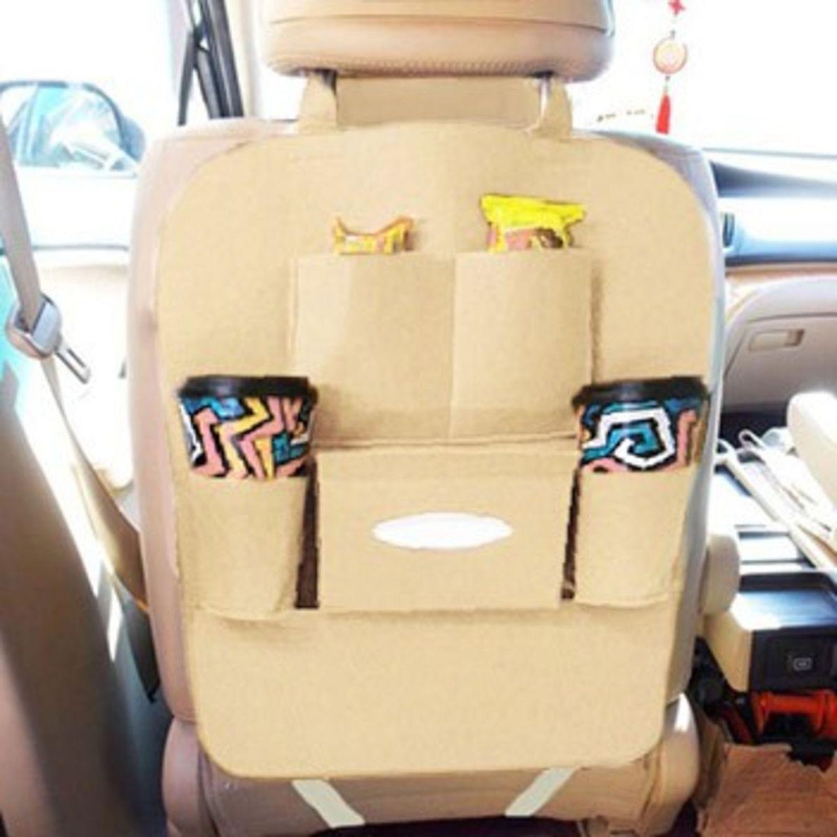 6bcf49fed Bolsa Organizadora Uber Taxi Banco Carro 6 Compartimentos Marrom Claro |  Cacareco Braslu Nunca Usado 23399157 | enjoei