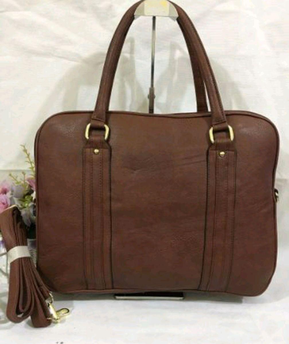 77cca0f41 bolsa pasta feminina professora notebook maleta escolar falcudade - de mão  importado