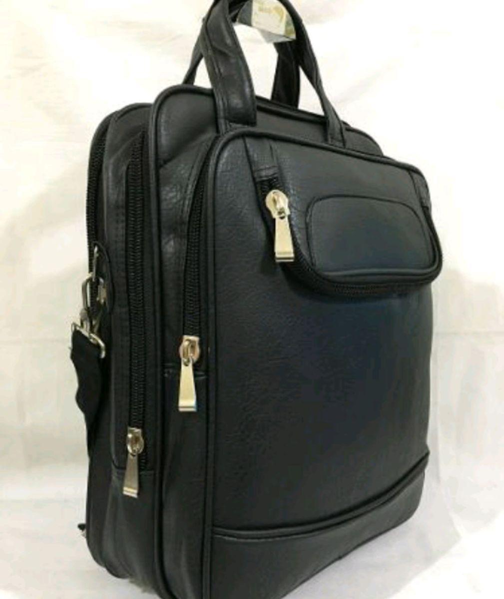 a62d620823 bolsa pasta tiracolo transversal couro sintético masculina grande - bolsas  importado