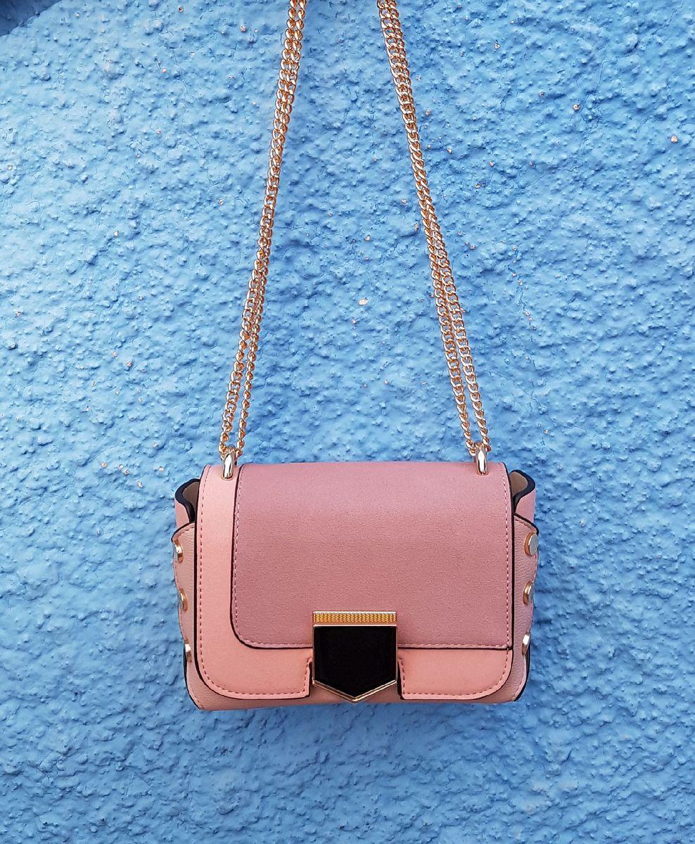 bolsa transversal rosa - bolsas bag