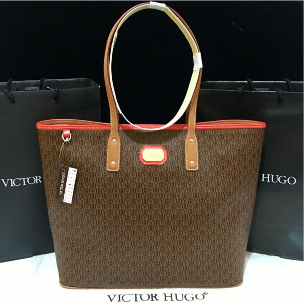 796adc12ae33f Bolsa Victor Hugo Original - Nova!!!   Bolsa de Ombro Feminina ...
