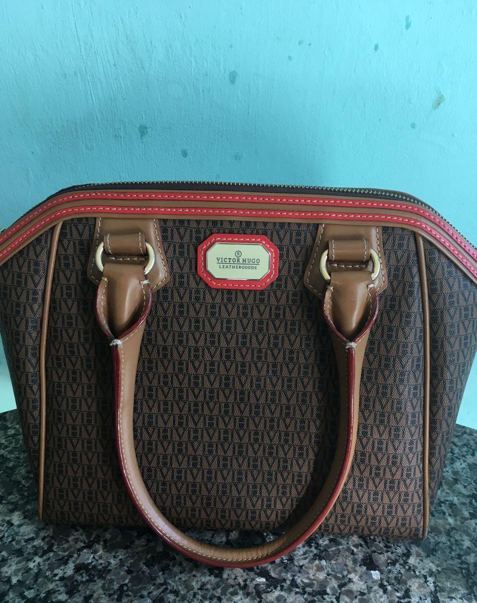 21d951317 Bolsa Victor Hugo Original | Clutch Feminina Victor Hugo Usado ...