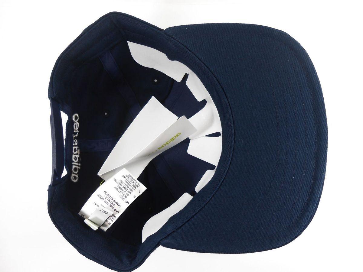 8edcd2d3317d1 Boné Adidas Flatbrim Azul Marinho 28177383