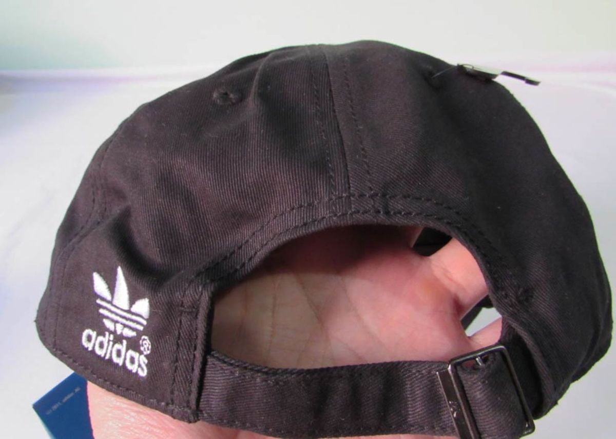 dfc205ed054f8 Boné Adidas Originals Preto Ac Classic Dad Hat Aba Curva Ajustável 19903886