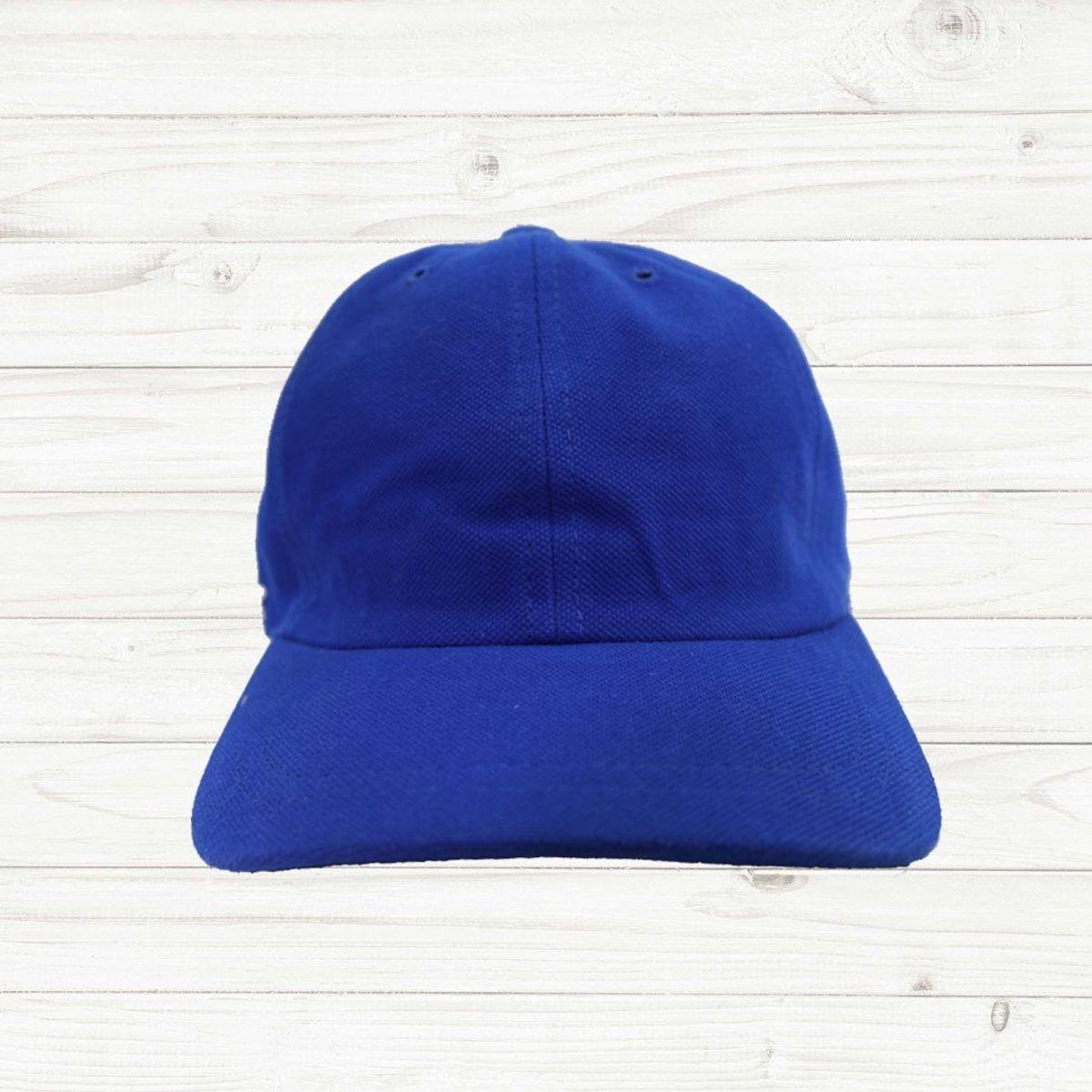 a4162b5af08 boné lacoste aba curva clássico azul - bonés lacoste