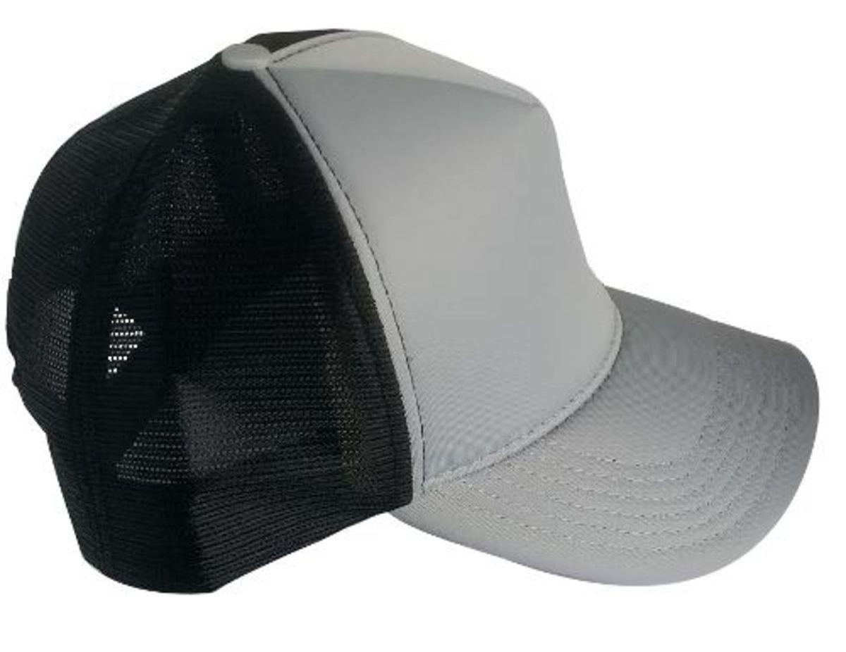 boné redinha trucker preto cinza tela telinha moda justin bieber - bonés tkn ac029bd39fe