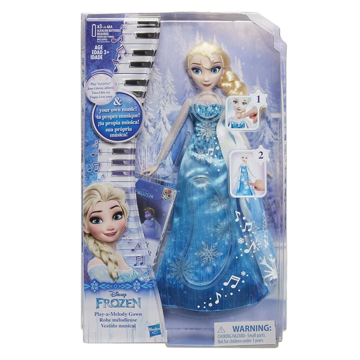 d0faaedced Boneca Frozen Elsa Vestido Mágico Musical Lançamento Importada ...