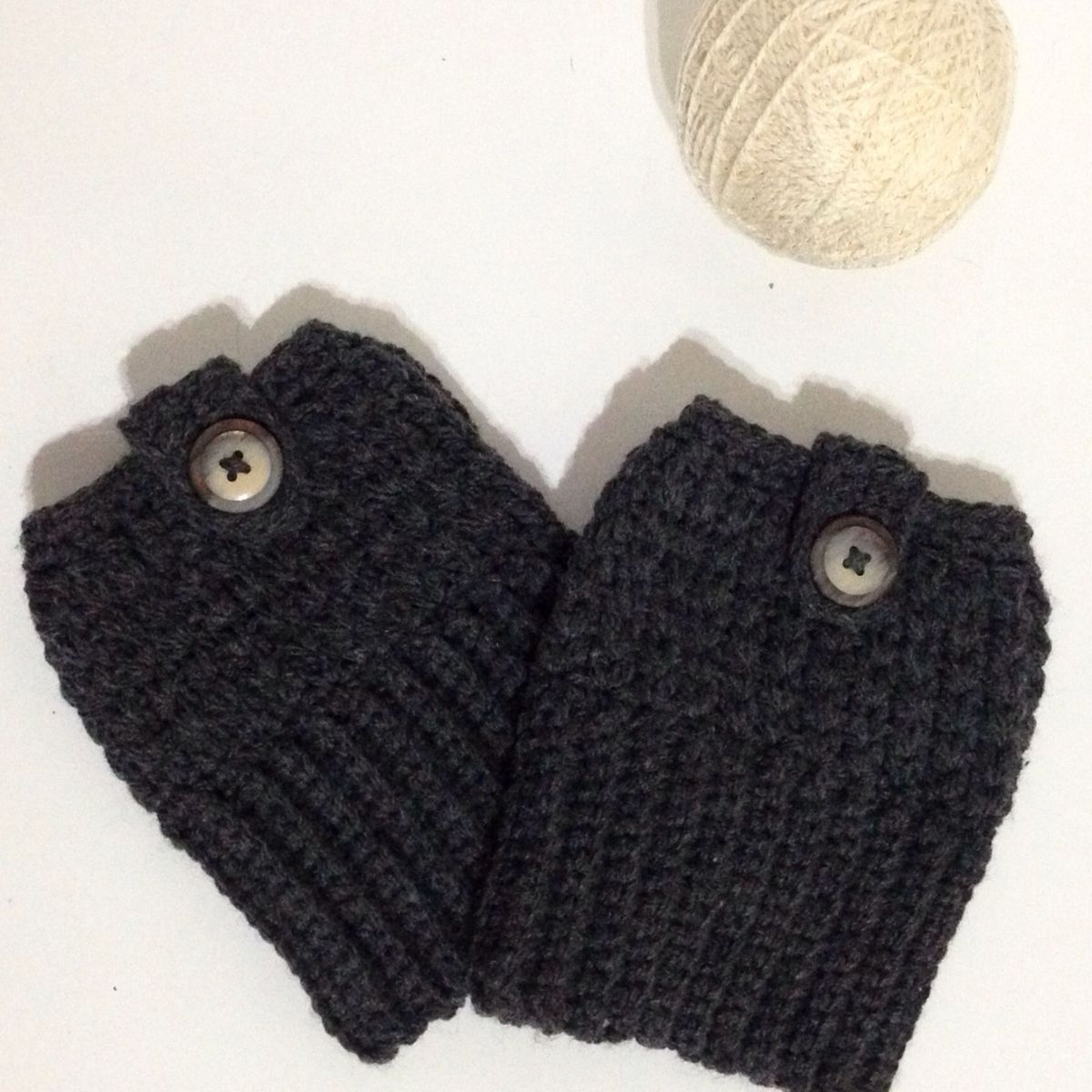 e82a0632c Boot Cuff de Crochê - Mini Polaina | Meia Calça Feminina Ateliê Da Chan  Nunca Usado 16119553 | enjoei