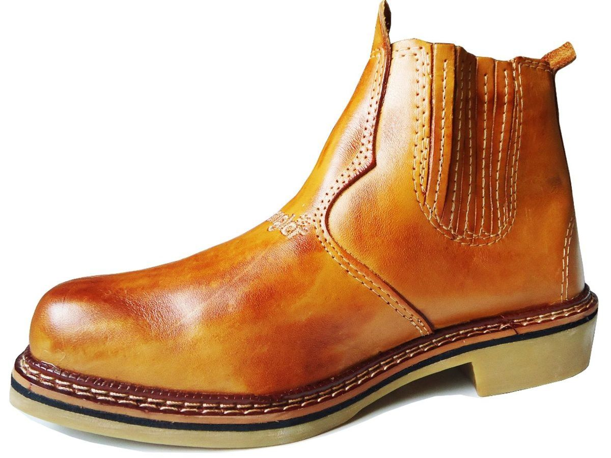 ... bota botina wrangler cano curto 100% couro legítimo oferta! - botas  wrangler f5985f5784f362  botina bota masculina ... 4fc827ff0e