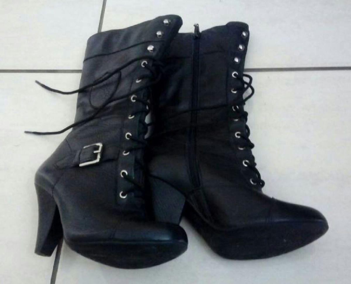bota com ziper - botas dakota
