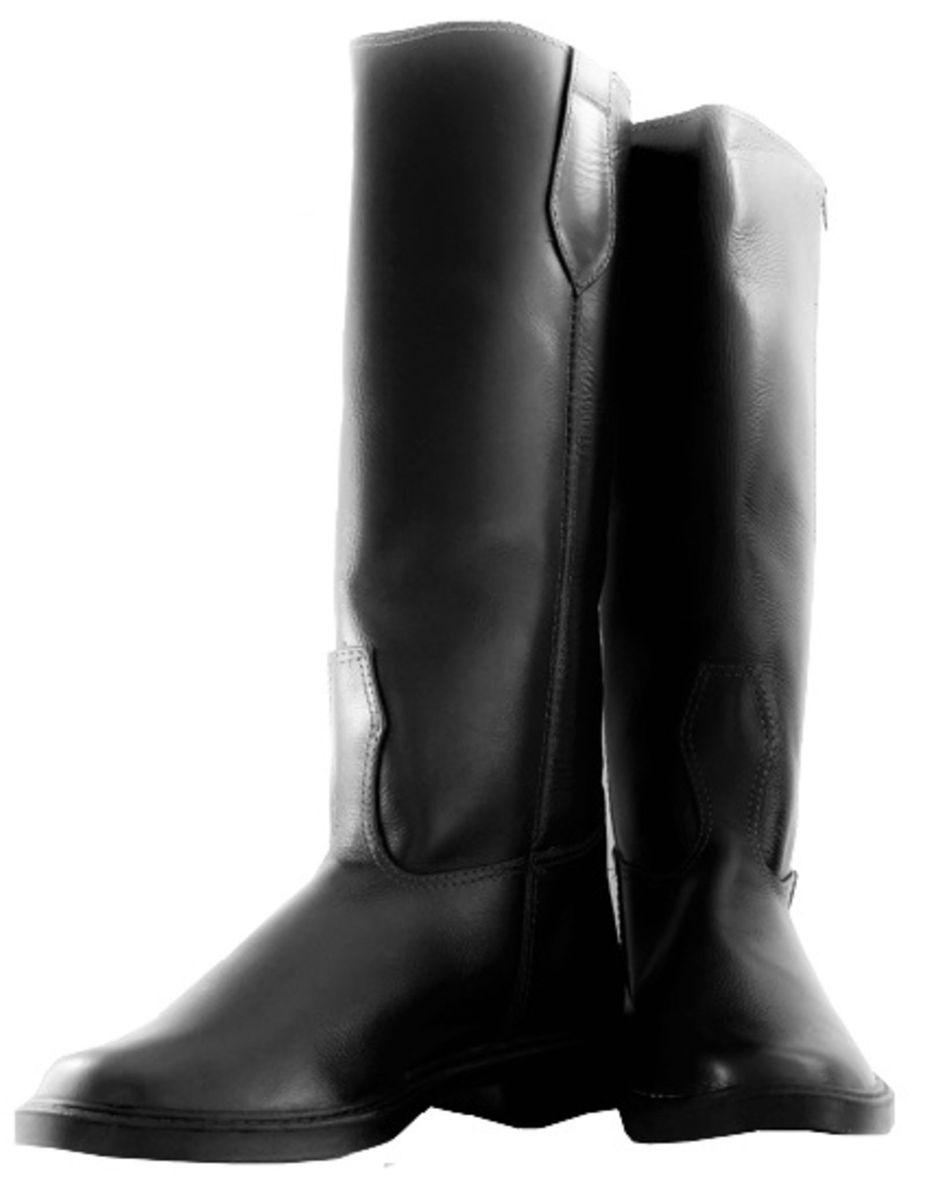 40d2c6155f bota hípica cano longo de couro legítimo preta masculina 41 - botas 01  hípica