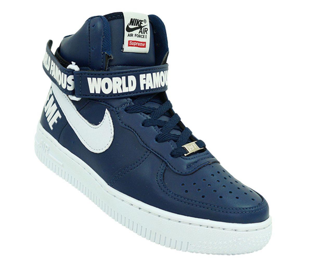 d5f0160b820 bota nike air force supreme cano alto - botas bota-nike