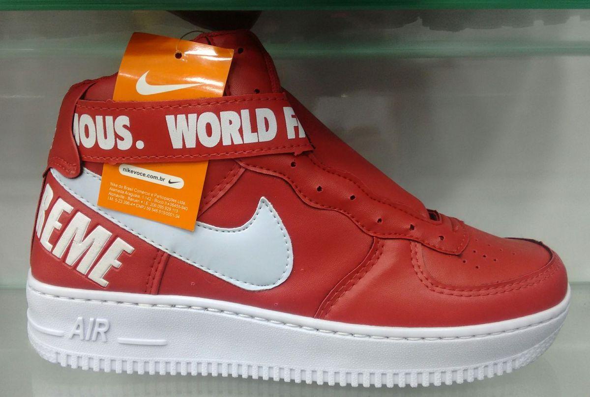 bota nike vermelha número 39 - botas nike.  Czm6ly9wag90b3muzw5qb2vplmnvbs5ici9wcm9kdwn0cy8xmda4odg1mi85njvlmmu2yza5nzjkmwy1njlhythknjnjndgxmmnmyy5qcgc 41180f96523bc