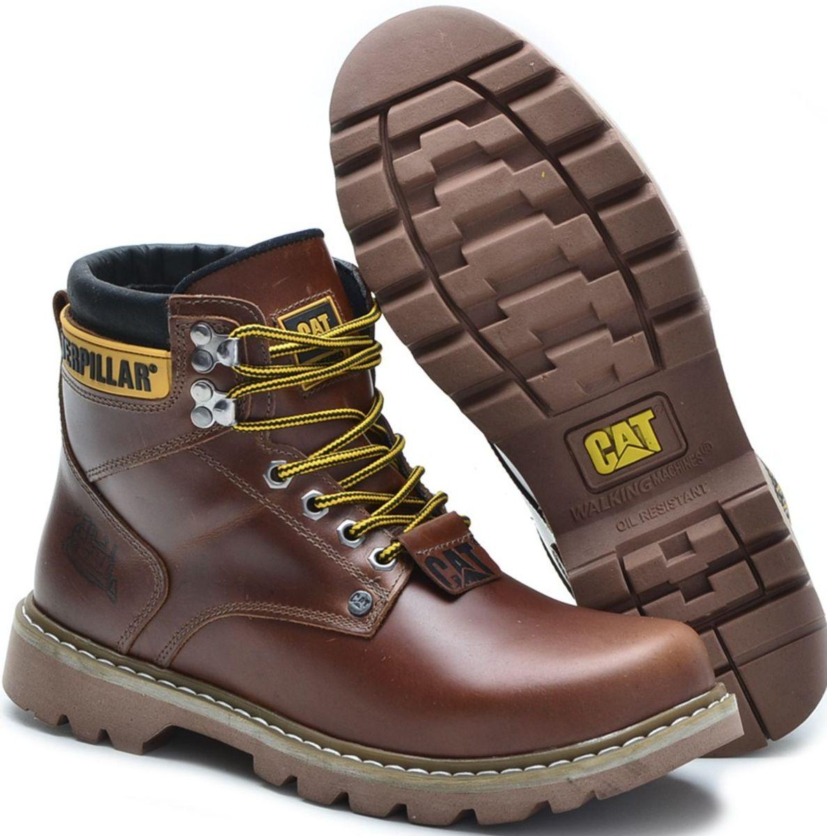 b1498b8803 bota original masculina cat top lançamentos - botas caterpillar