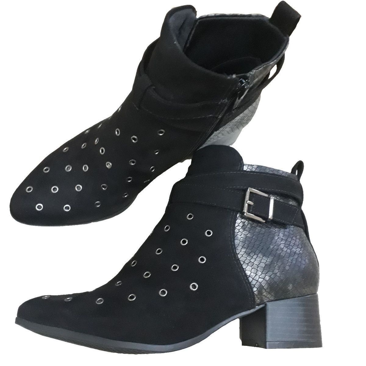 bota preta ramarim - botas ramarim