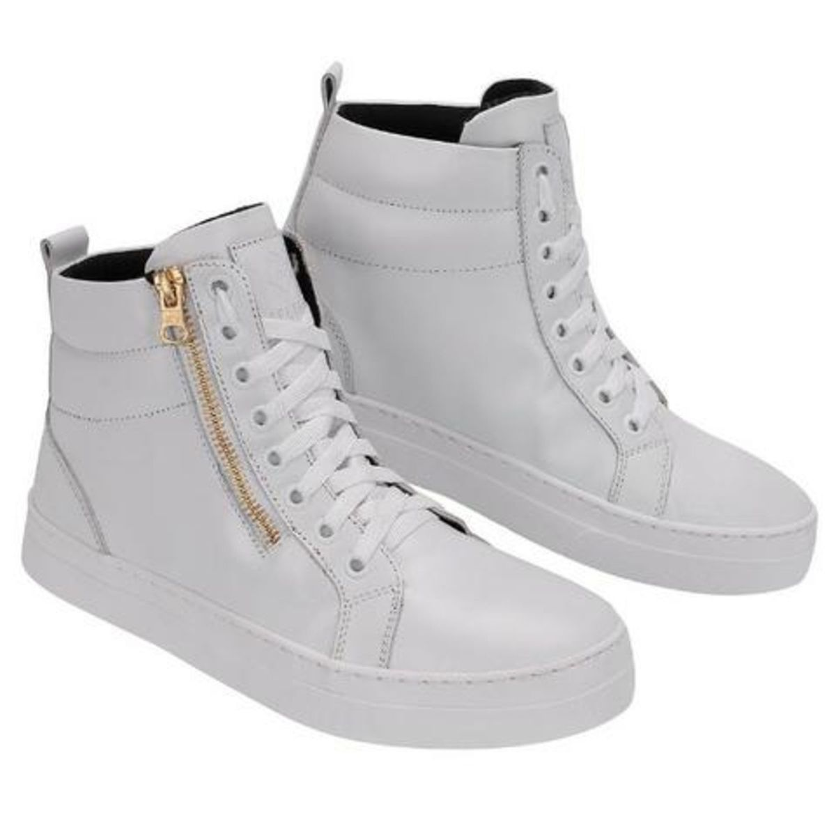 de9346236 Bota Sneaker Feminino de Zíper