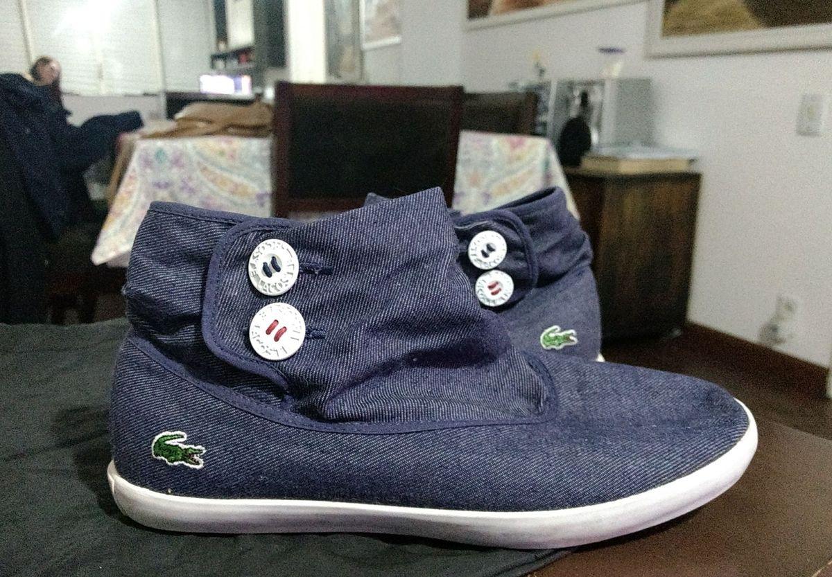 botinha lacoste jeans cano alto - tênis lacoste.  Czm6ly9wag90b3muzw5qb2vplmnvbs5ici9wcm9kdwn0cy85ndkyotuvymm1owzhzjljnmnhmta2nzrlnzi2ytk0yzg5yjiwzdiuanbn  ... a687f71a83
