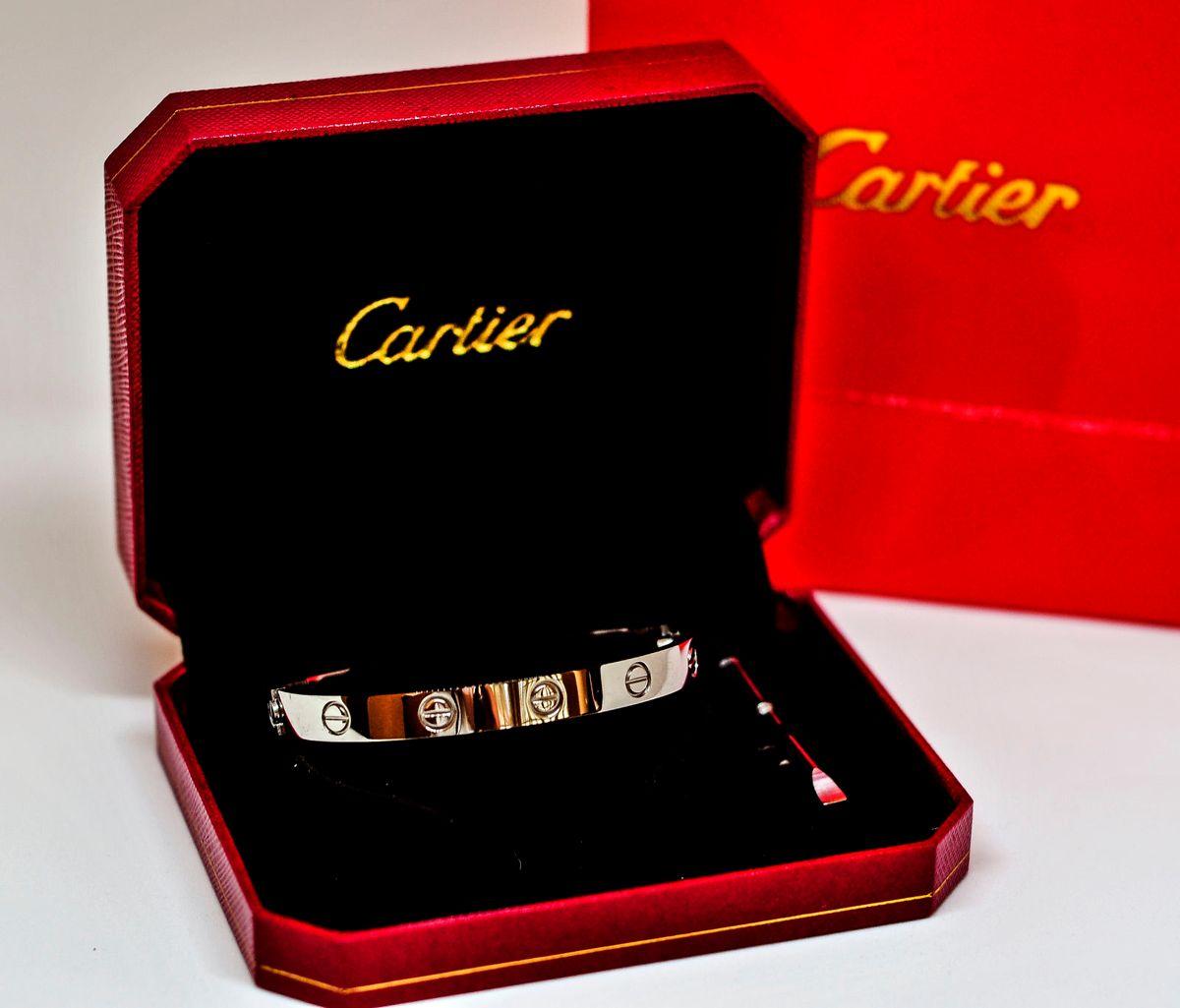165b7085266 bracelete cartier love unissex titanium from usa - bijoux cartier